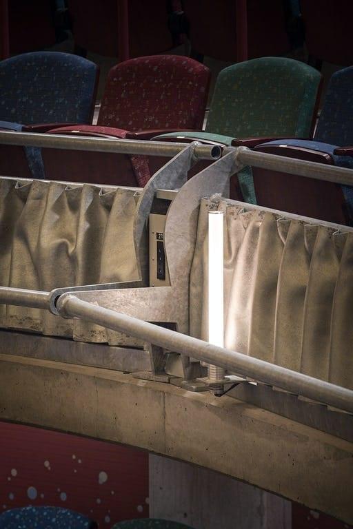PHOTO OF HOT-DIPPED GALVANIZED STEEL CUSTOM GUARDRAIL.