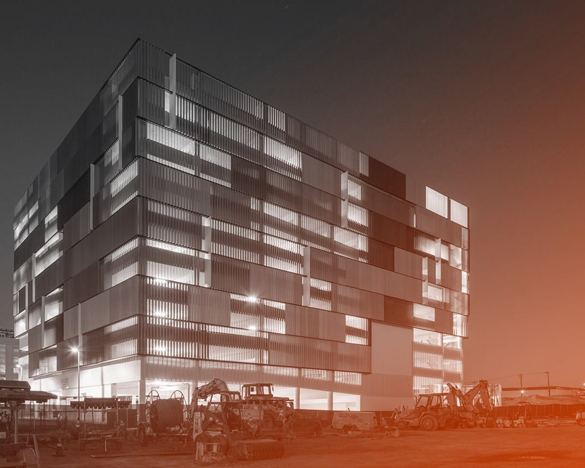 Zahner photography of ucsf-parking-structure-mission-bay