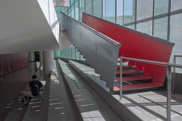 Custom slow stair at the Juilliard School