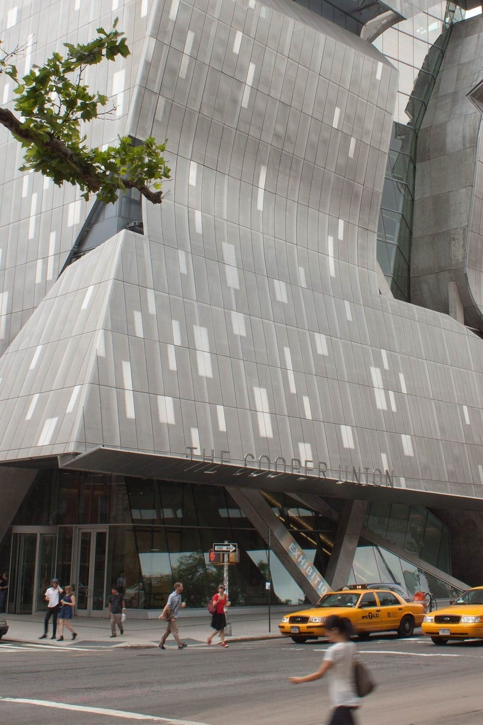 PICTURED: COOPER UNION NEW ACADEMIC BUILDING.