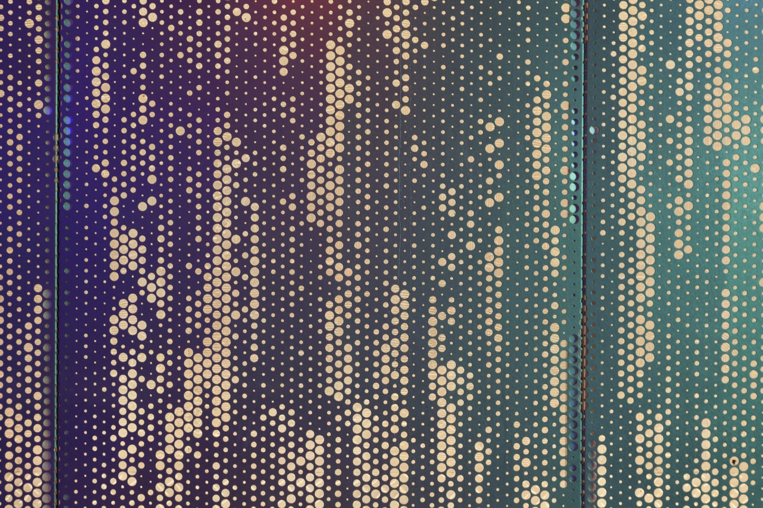 A close-up view of an abstract ImageWall pattern.