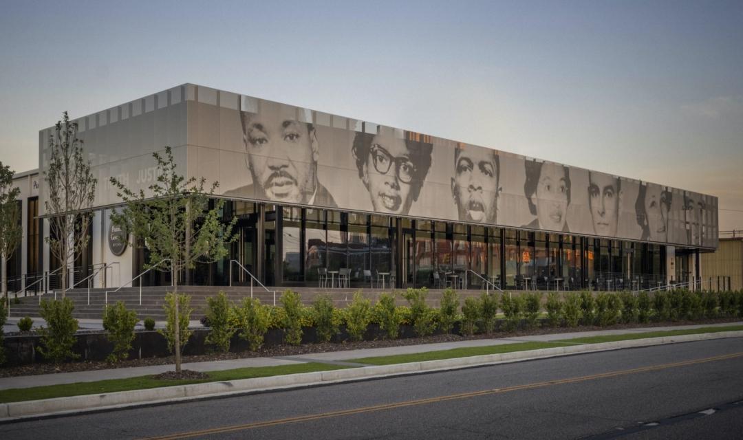 Equal Justice Initiative Building Exterior Facade