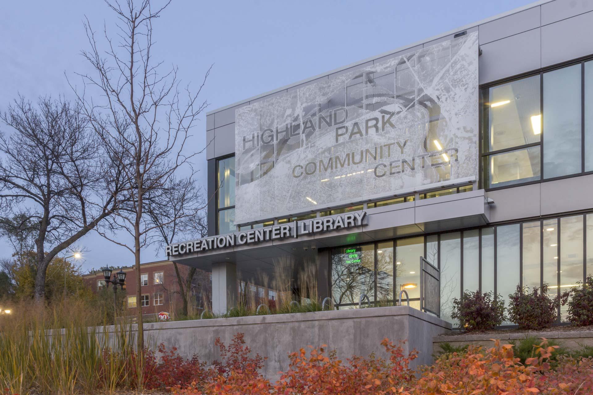 Highland Park Community Center in St. Paul, Minnesota.