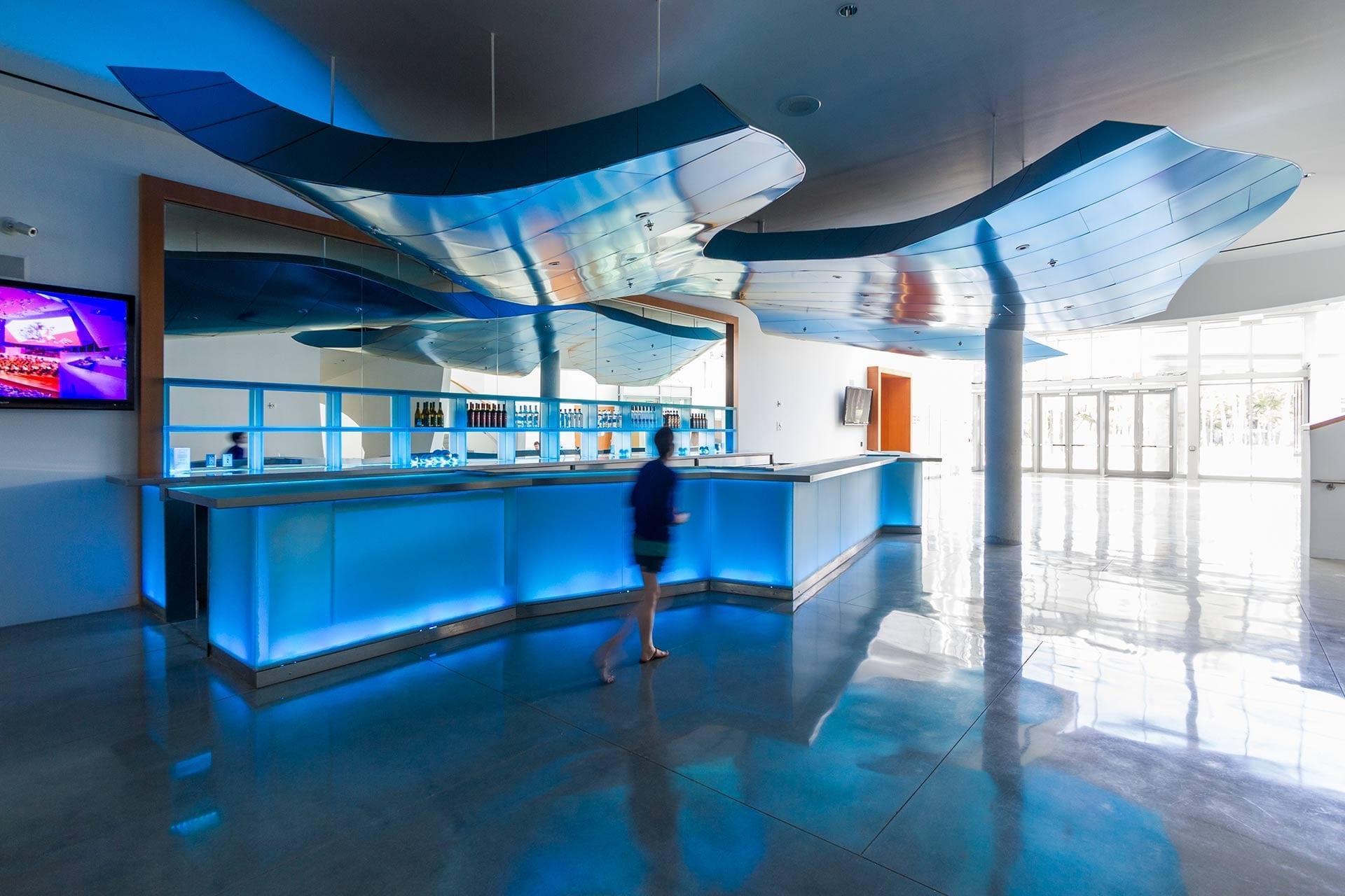 New World Symphony Bar in Miami, Florida.