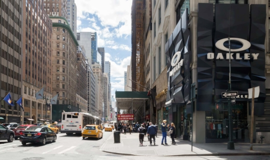 Photo of the Oakley Flagship store at Fifth Avenue in New York City