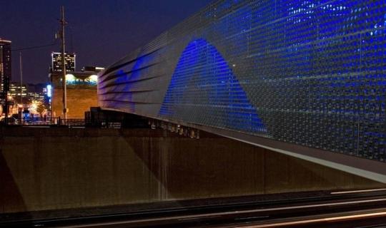Photo of The Power & Light Utility Bridge