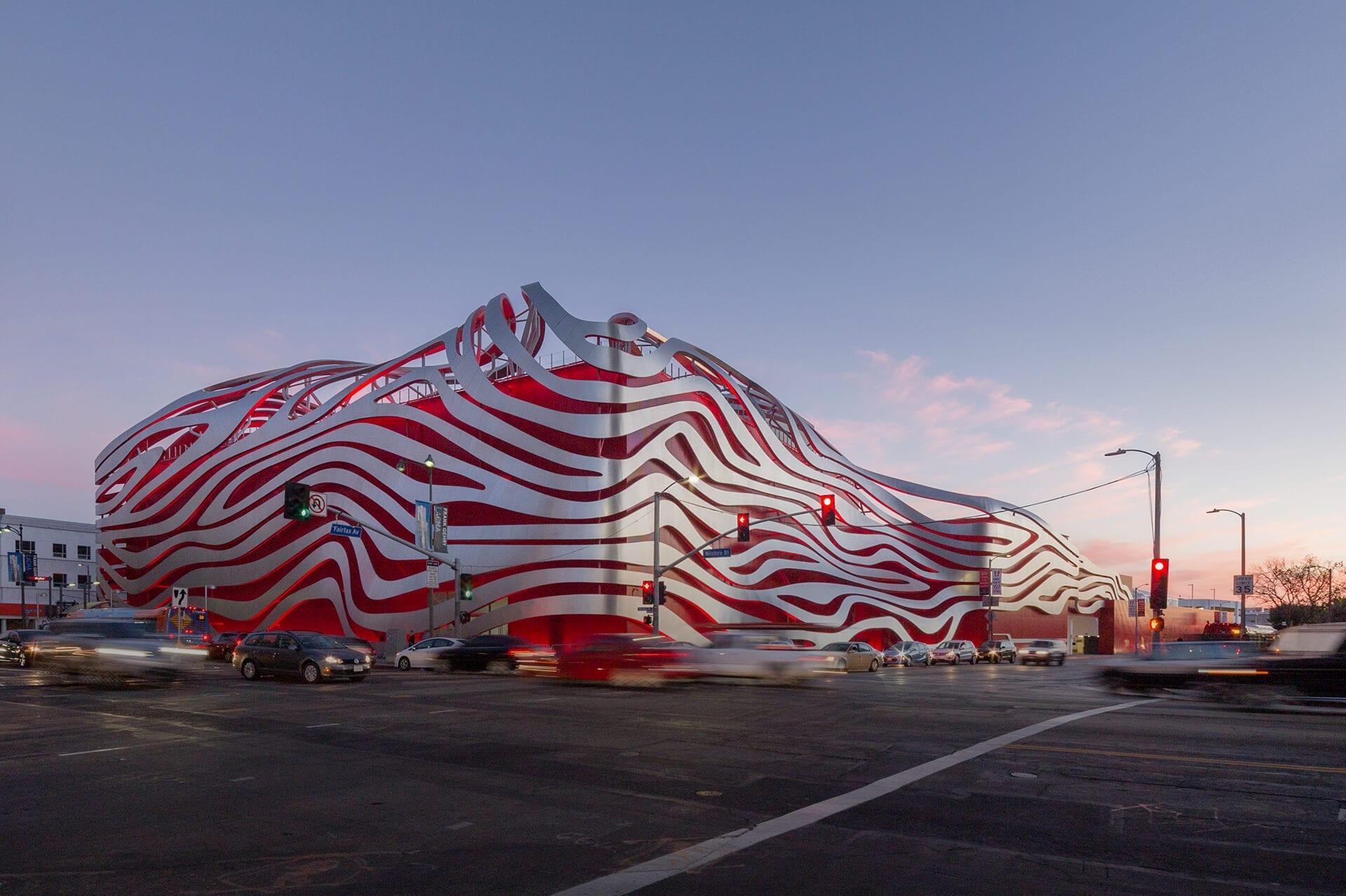 Petersen Automotive Museum in Los Angeles, California.