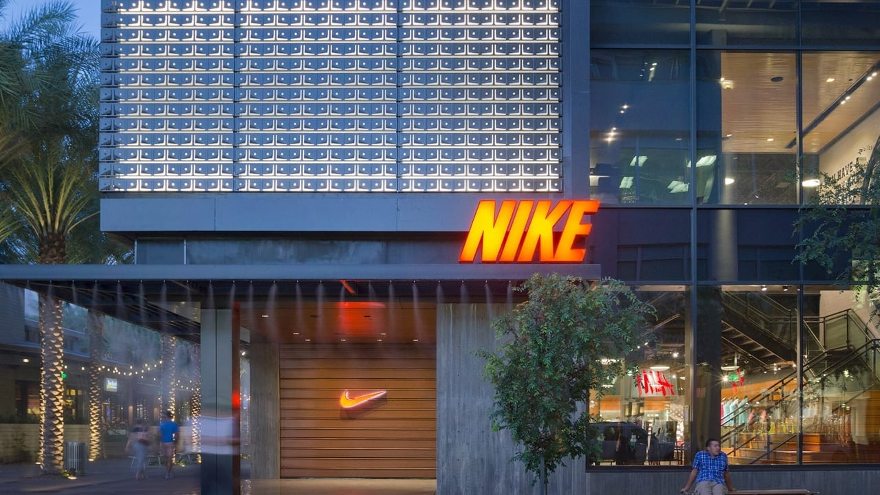 The Nike store in Scottsdale