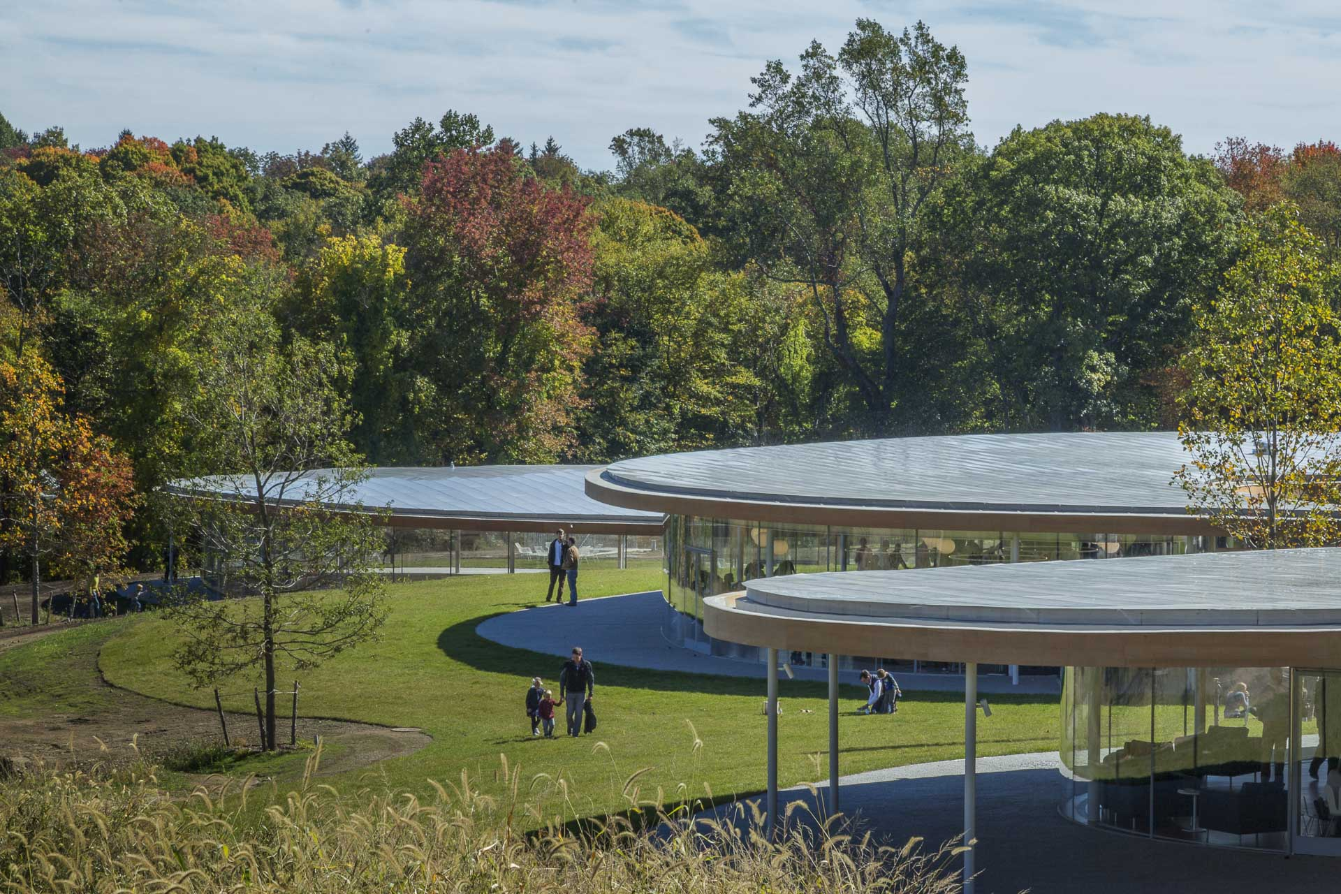 Grace Farms, designed by SANAA.