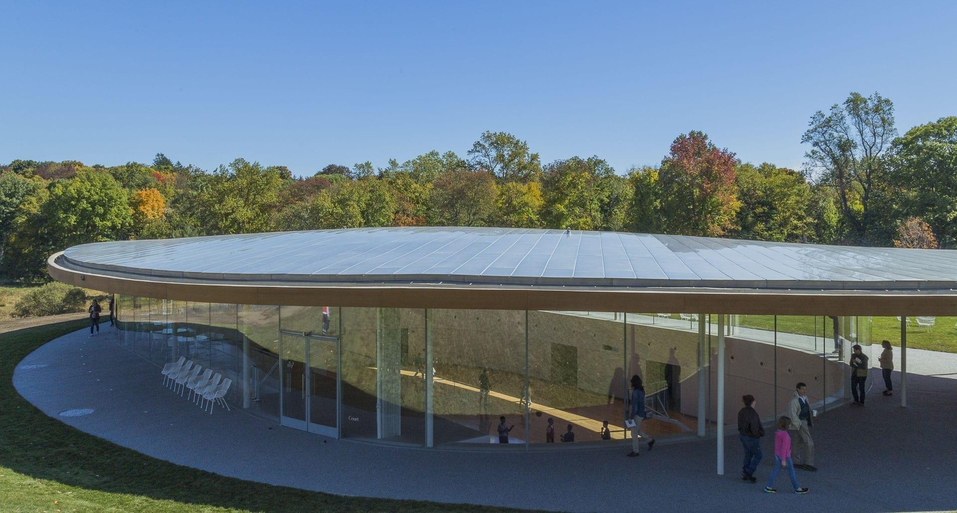 Building at Grace Farms.