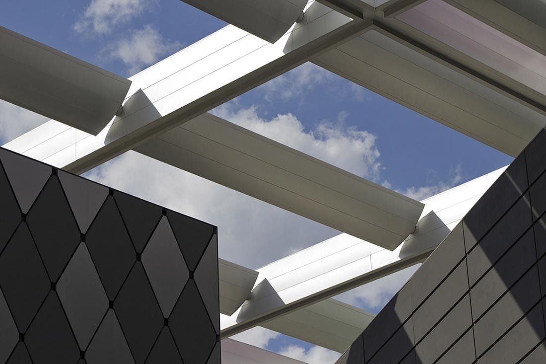 Detail of the Winspear Opera House Canopy
