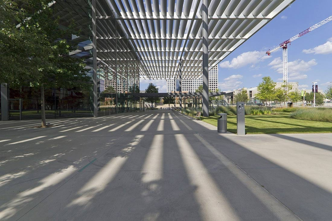 Winspear Opera House canopy system