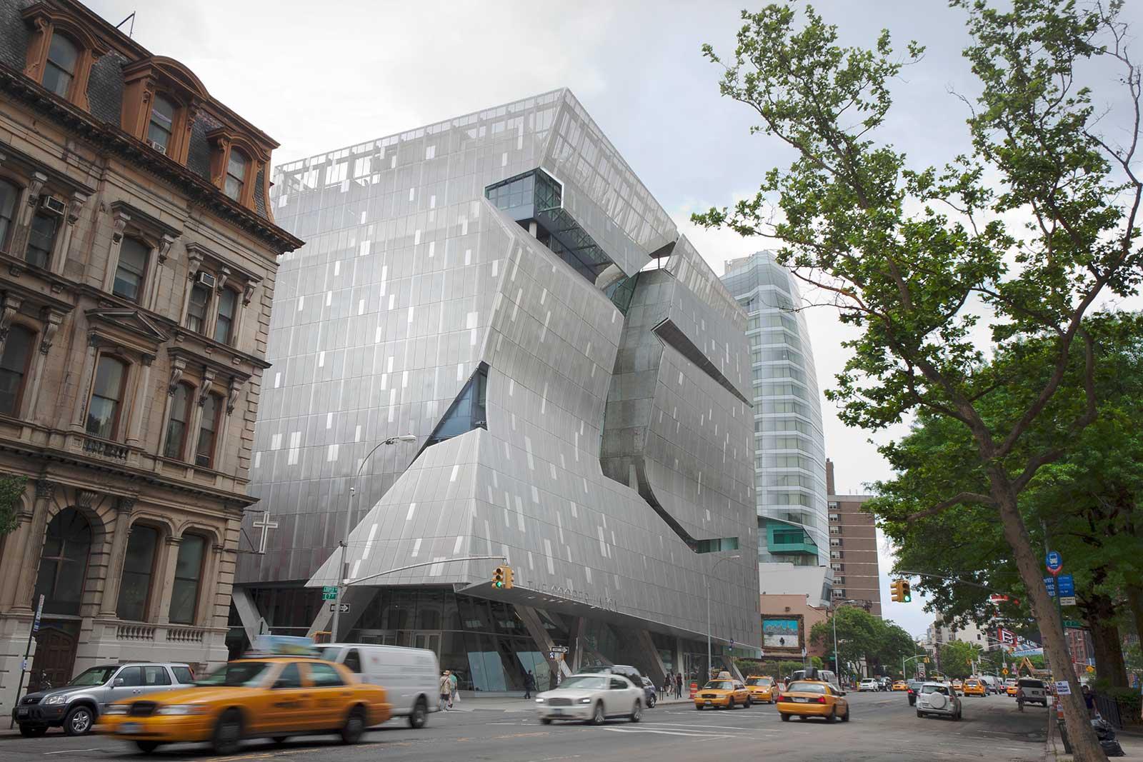 Cooper Union New Academic Building in Manhattan.