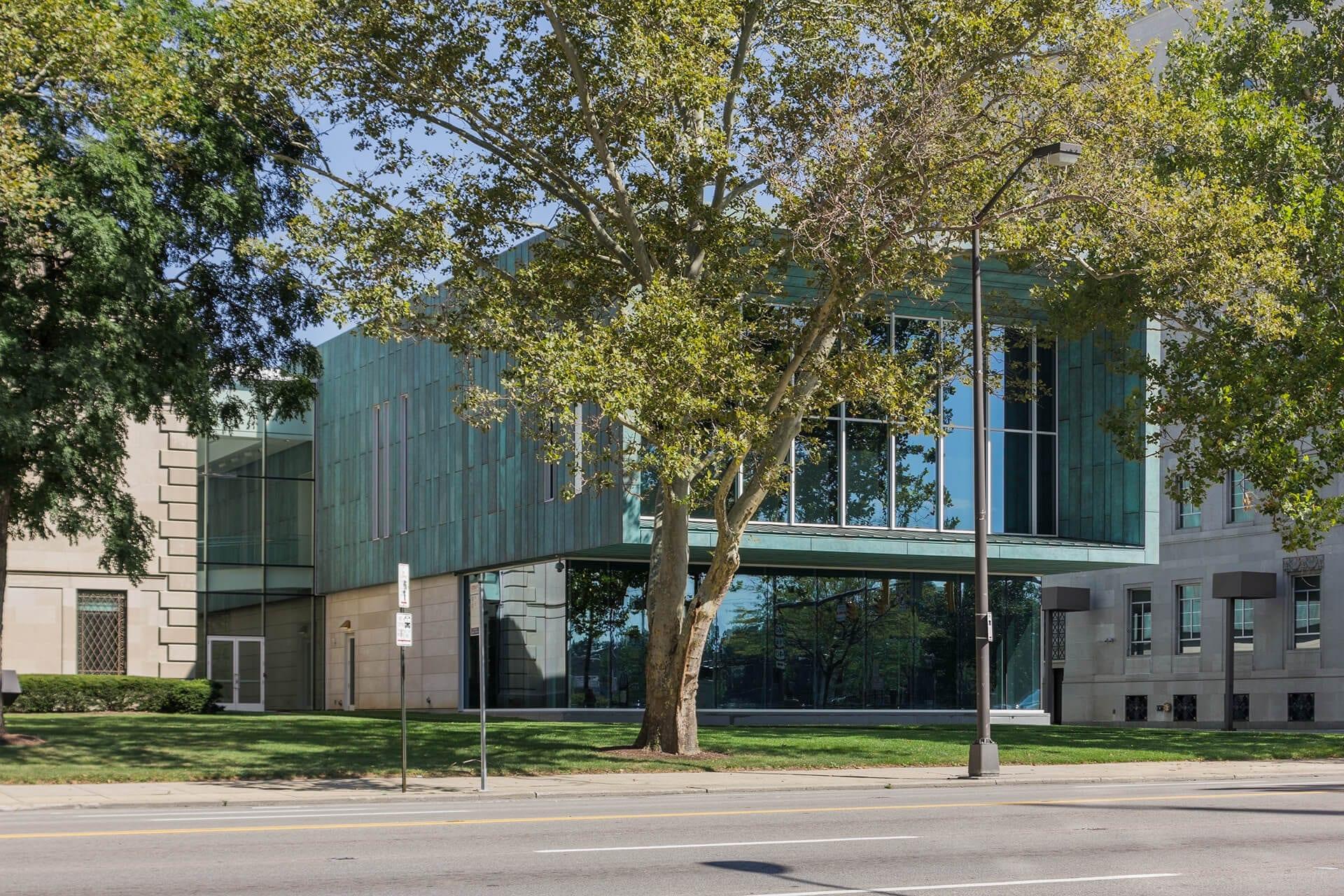 Columbus Museum of Art, South Entrance.