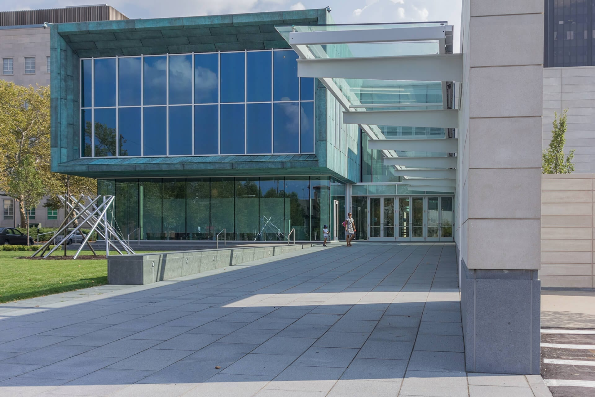 Columbus Museum of Art, North Entrance.