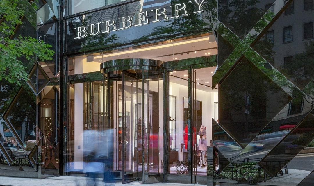 Burberry Chicago Flagship store on Michigan Avenue