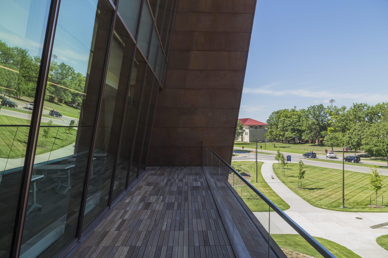 Unique balcony design using Solanum Steel