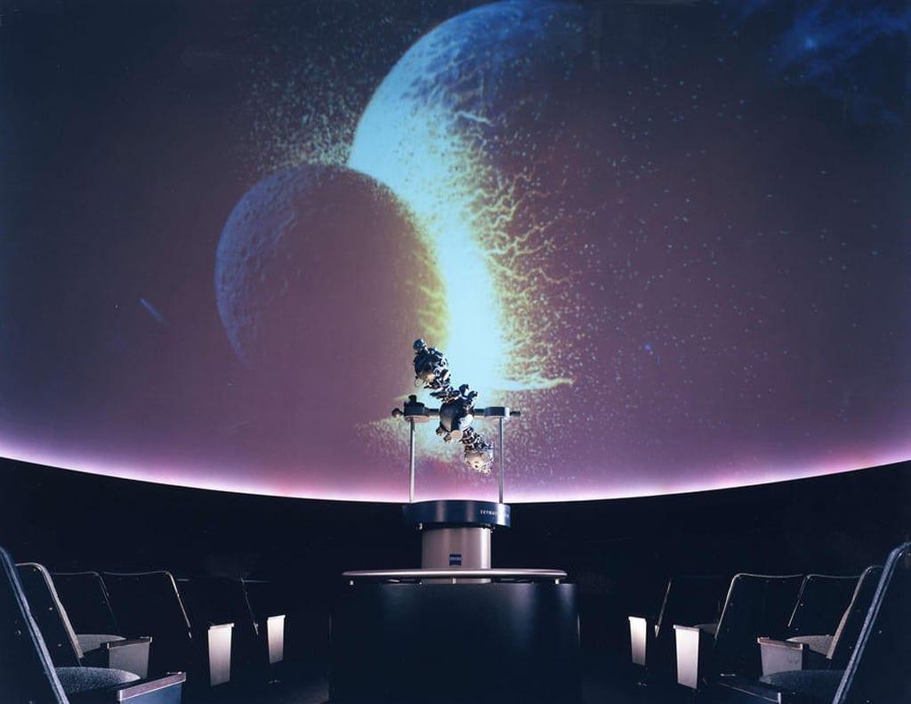Interior of the Shafran Planetarium
