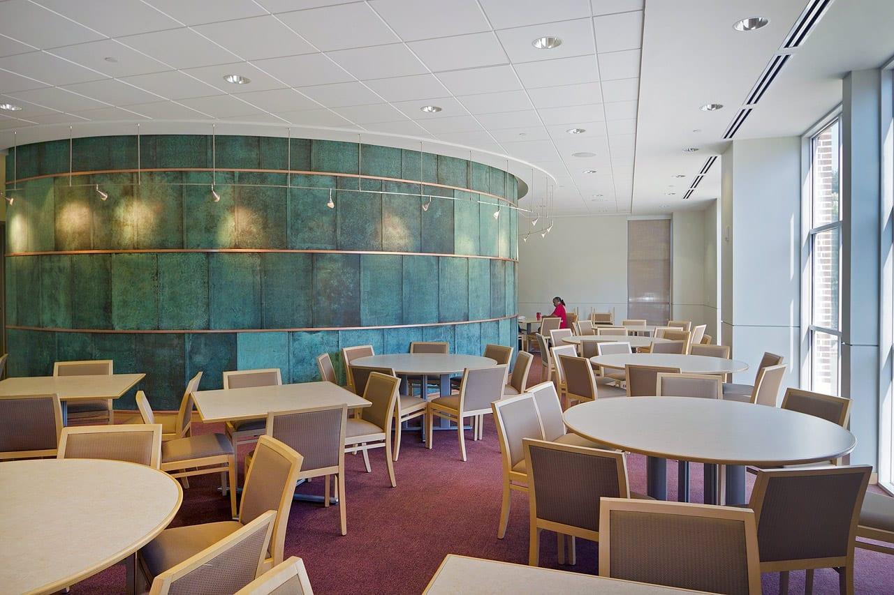 SMU Collins Cafeteria.