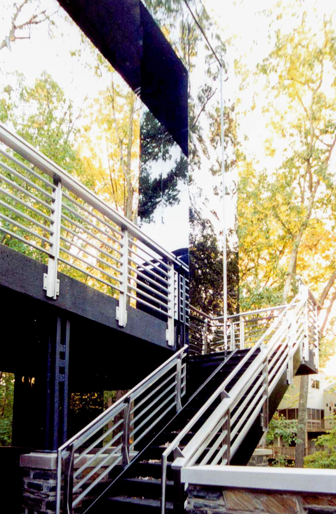 Details of the Handrails for Gaines Residence