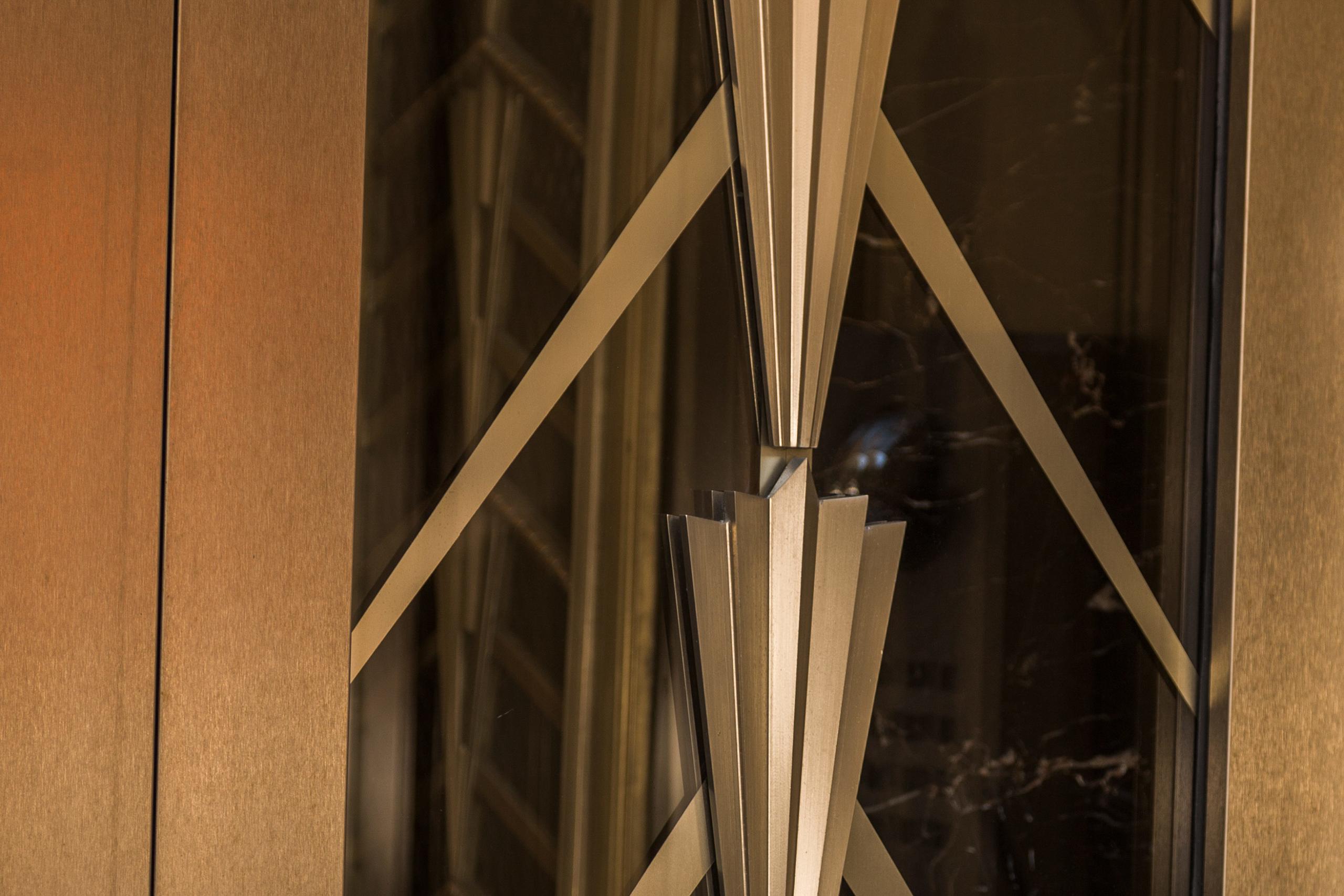Detail of entrance door