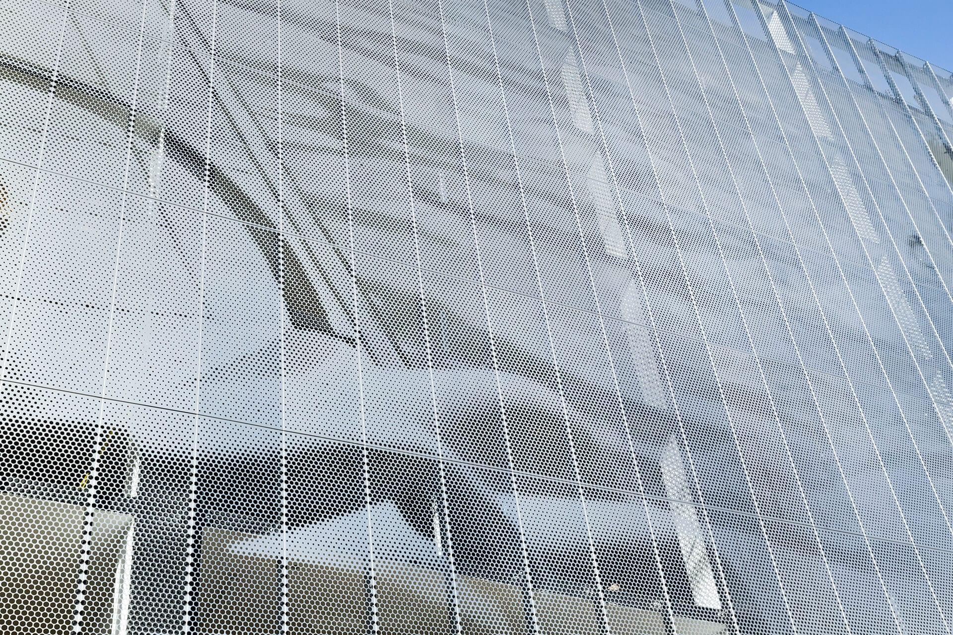 Facade for Miami Design District City View Garage.