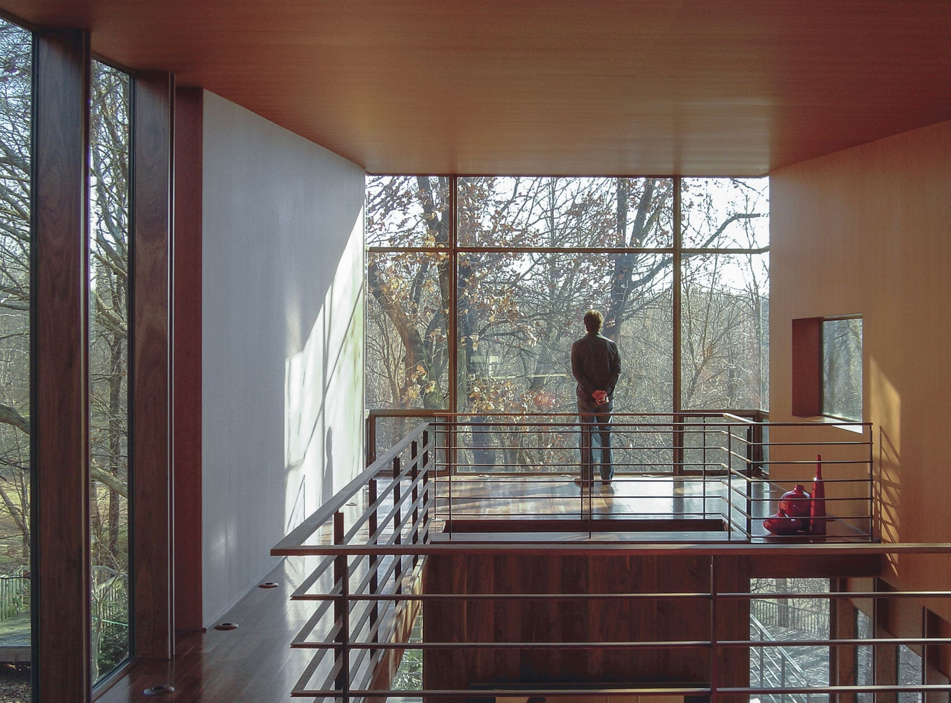Arkansas House designed by Marlon Blackwell.