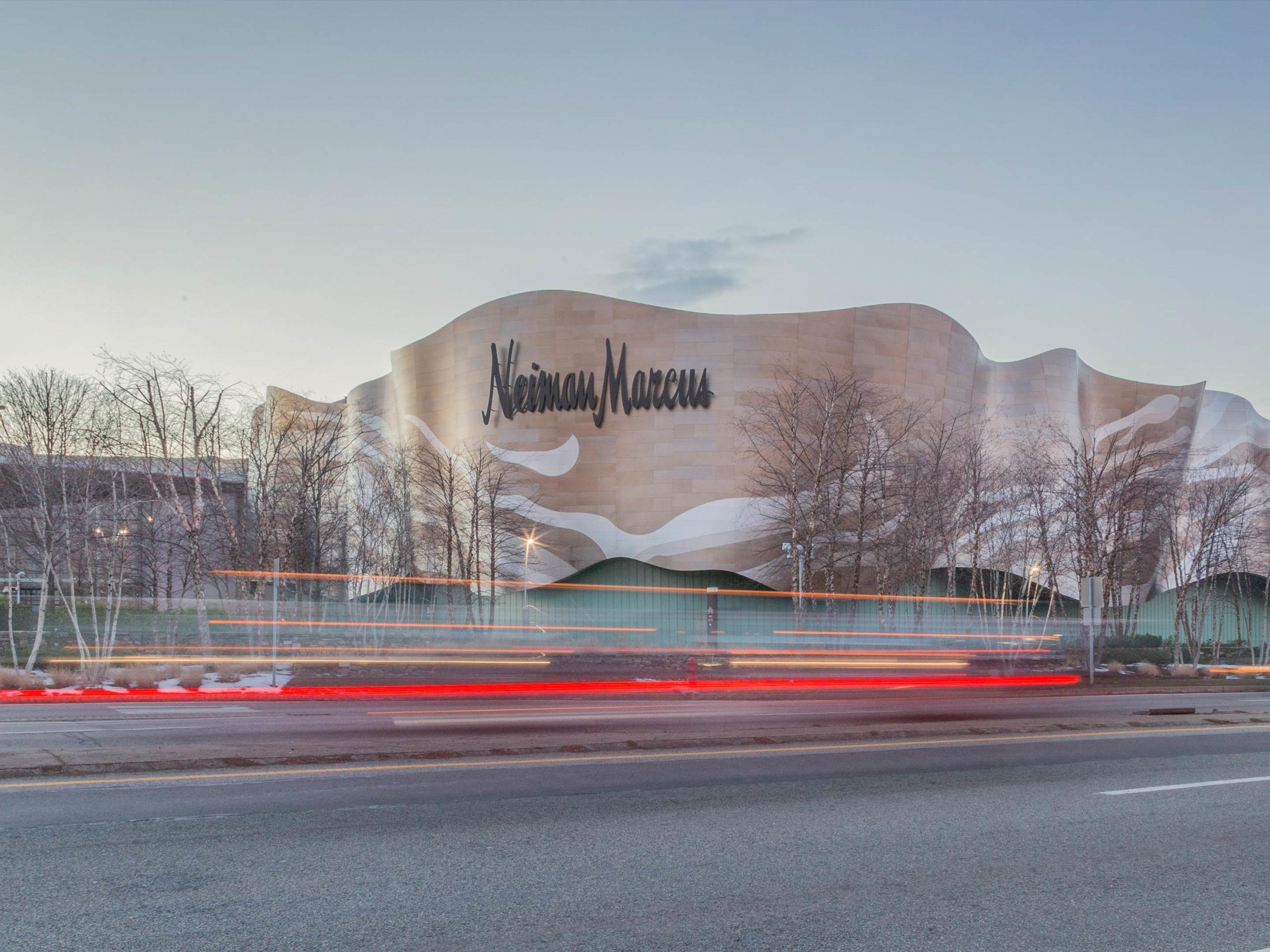 Neiman Marcus in Massachusetts, designed by Elkus Manfredi.