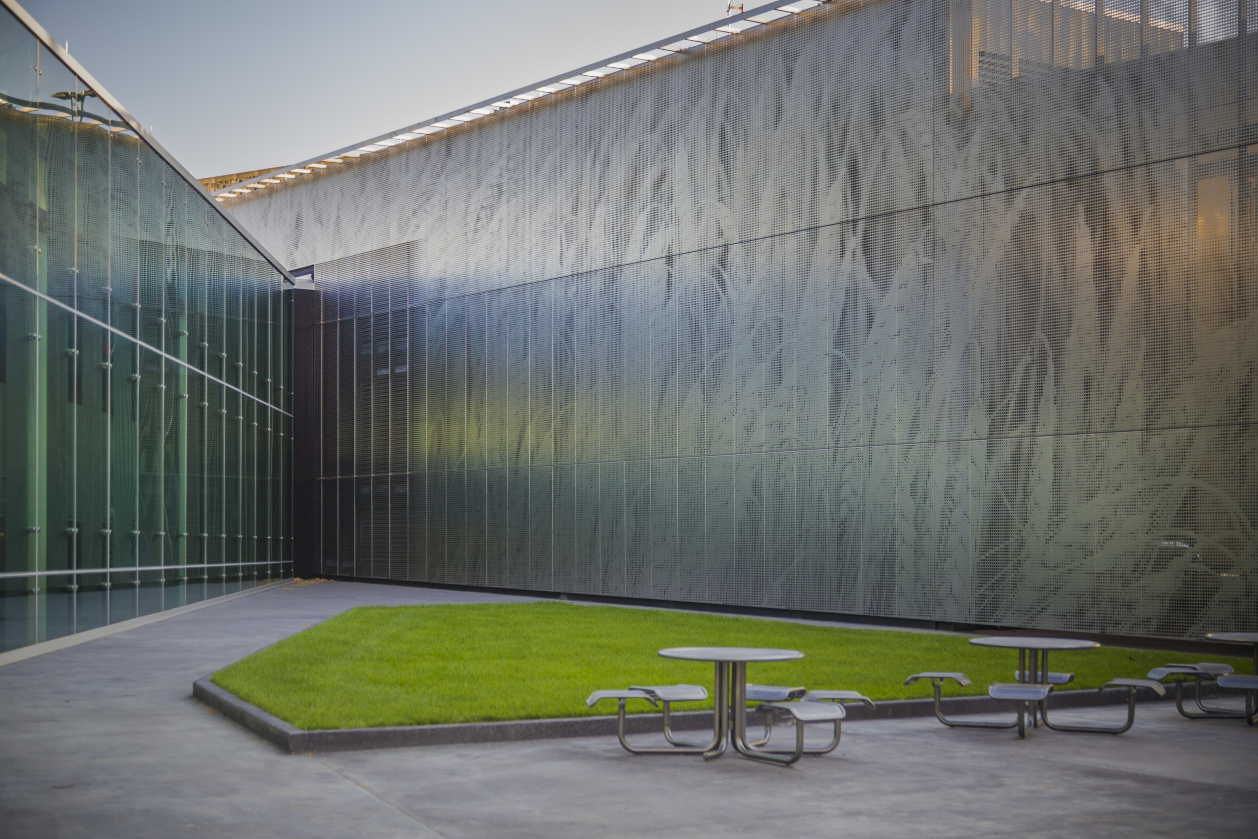 ImageWall was used on DeBruce Center in Lawrence, Kansas.