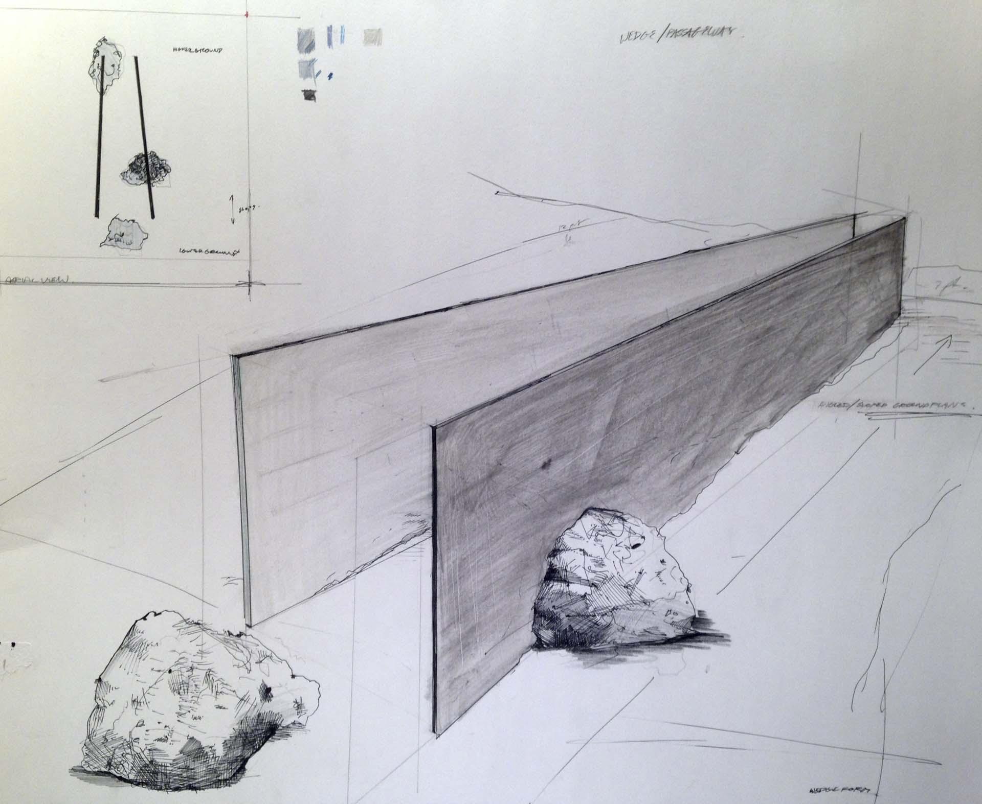 Wedge/Passage by Sierra Brown-Faust.