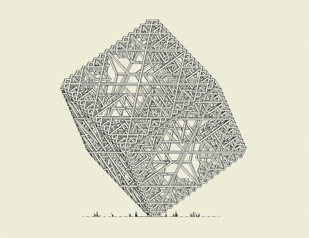 Precarious Cube – Daniel Suddarth.