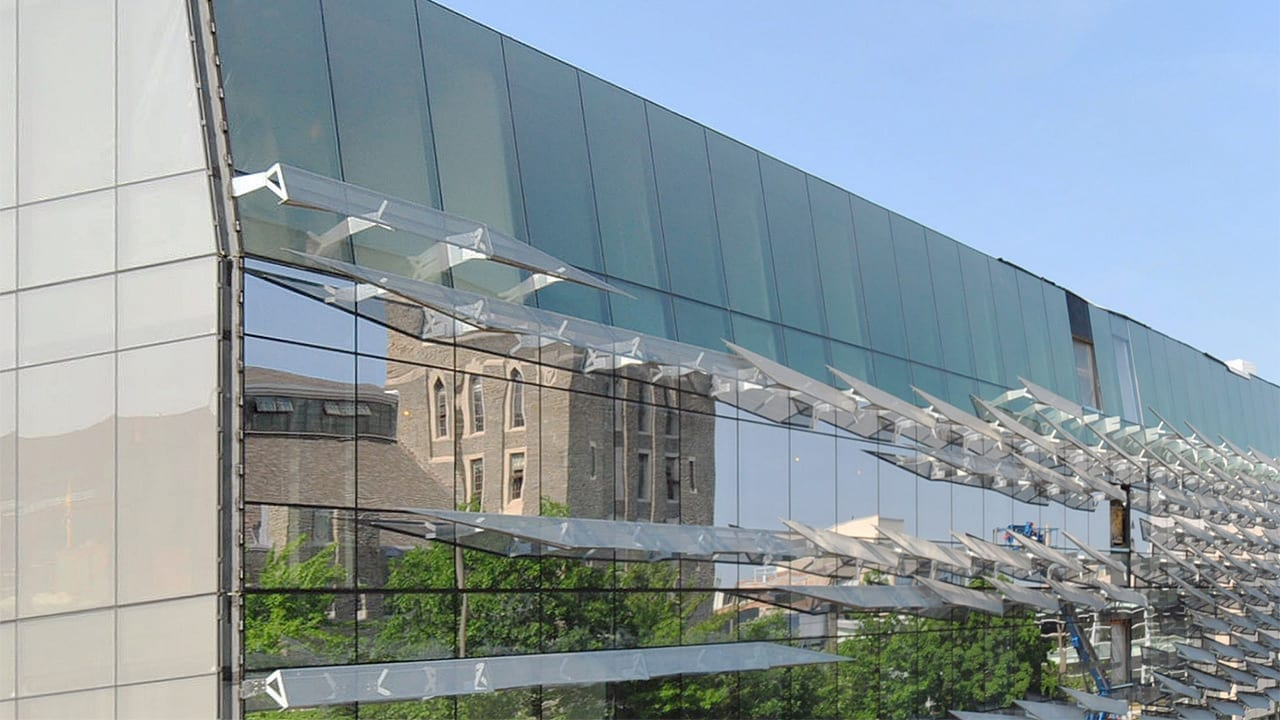 Gates Hall at Cornell in Ithaca, New York.