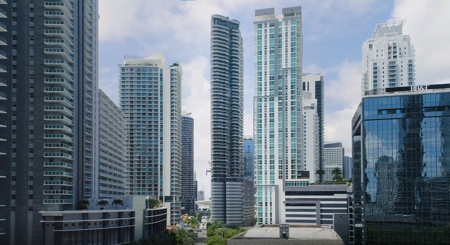 Brickell flatiron is a 64-story residential high rise in Miami, Florida.