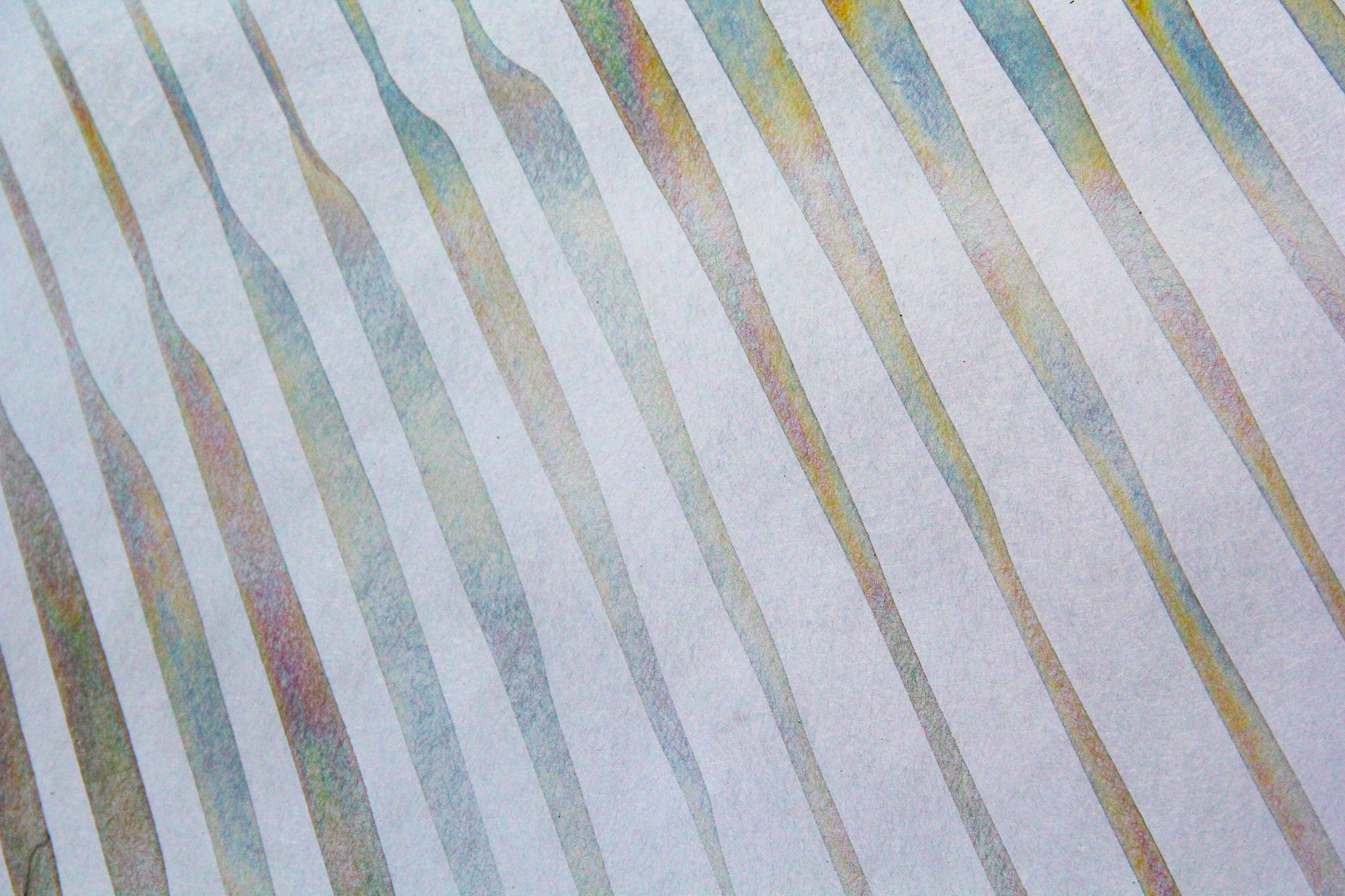 PRECISION PATINA SAMPLES – IRIDESCENT FINISH ON GALVANIZED STEEL - CLOSE-UP