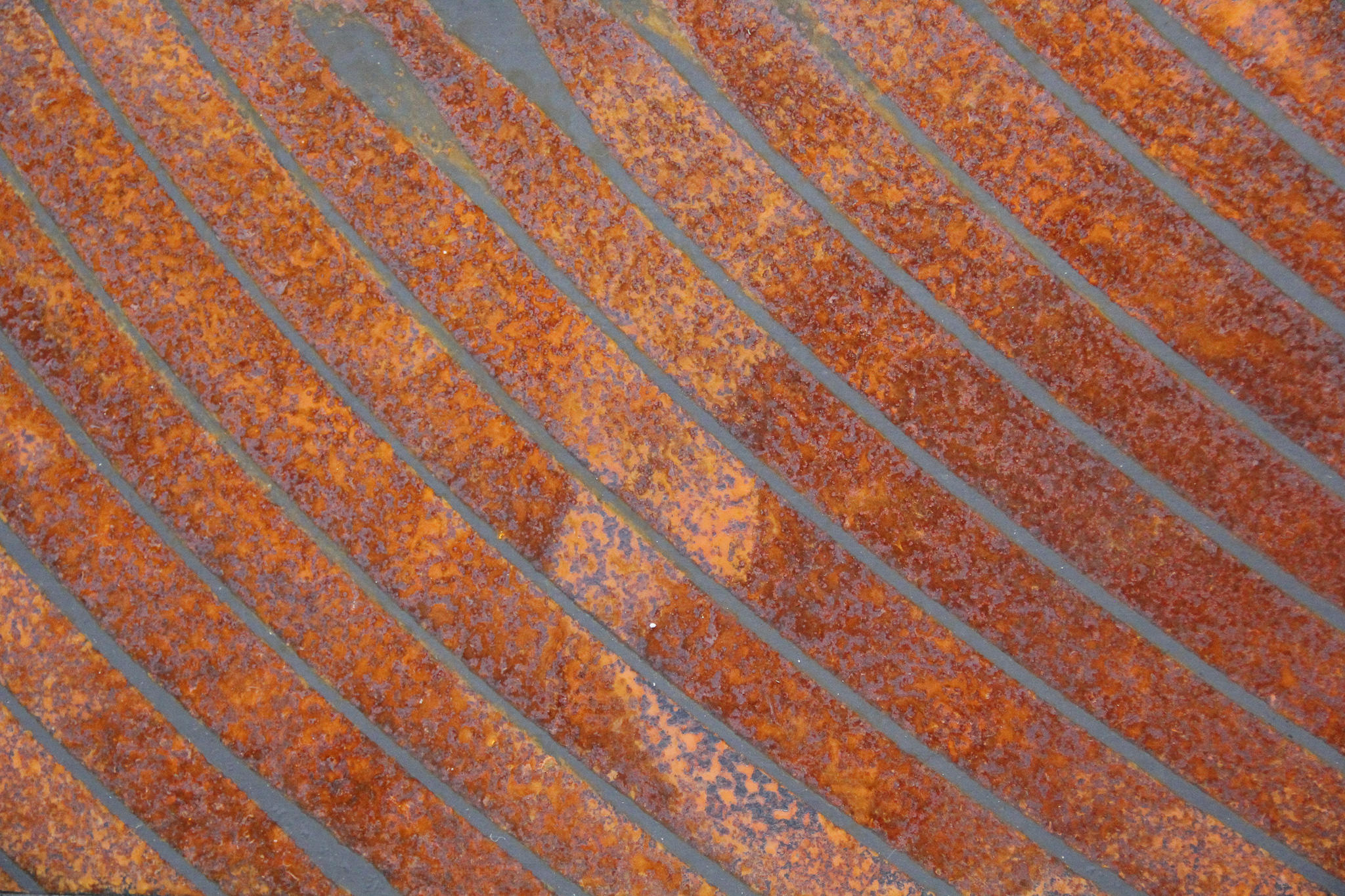 PRECISION PATINA SAMPLES – WEATHERING STEEL PANEL
